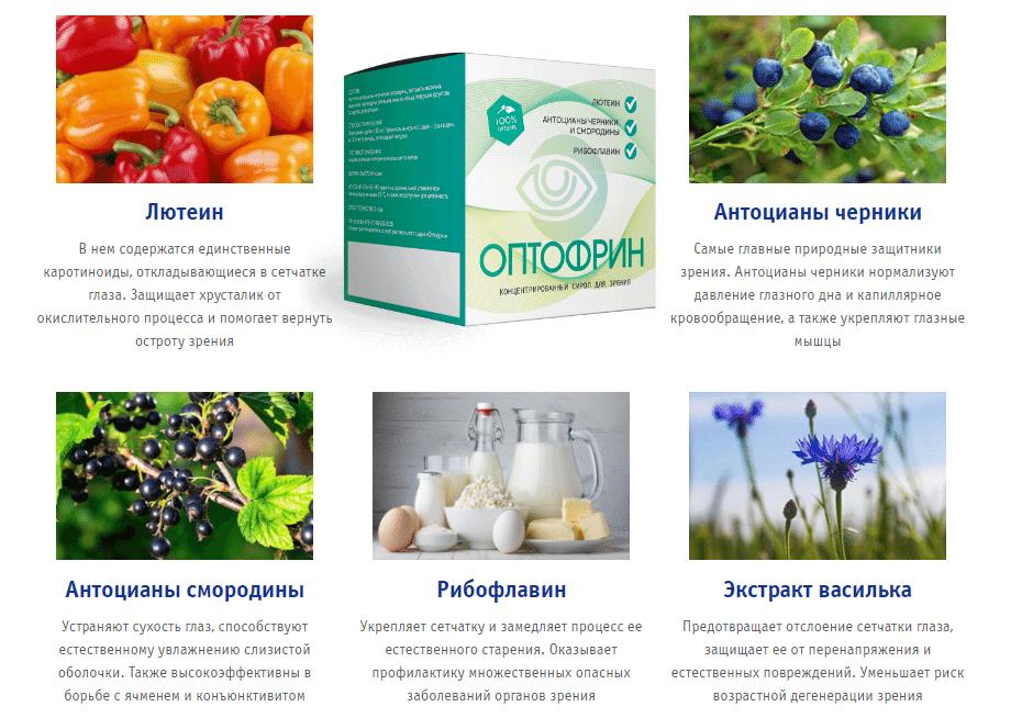 оптофрин состав